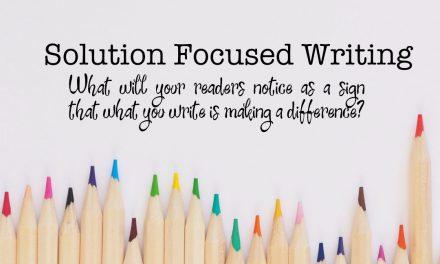 Solution Focused Writing Webinar